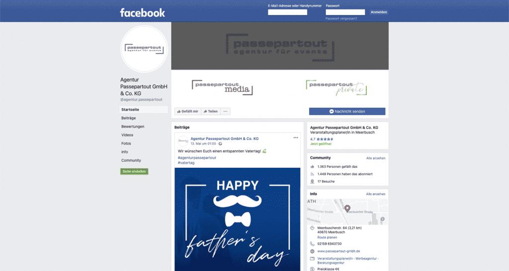 Agentur Passepartout – Social Media