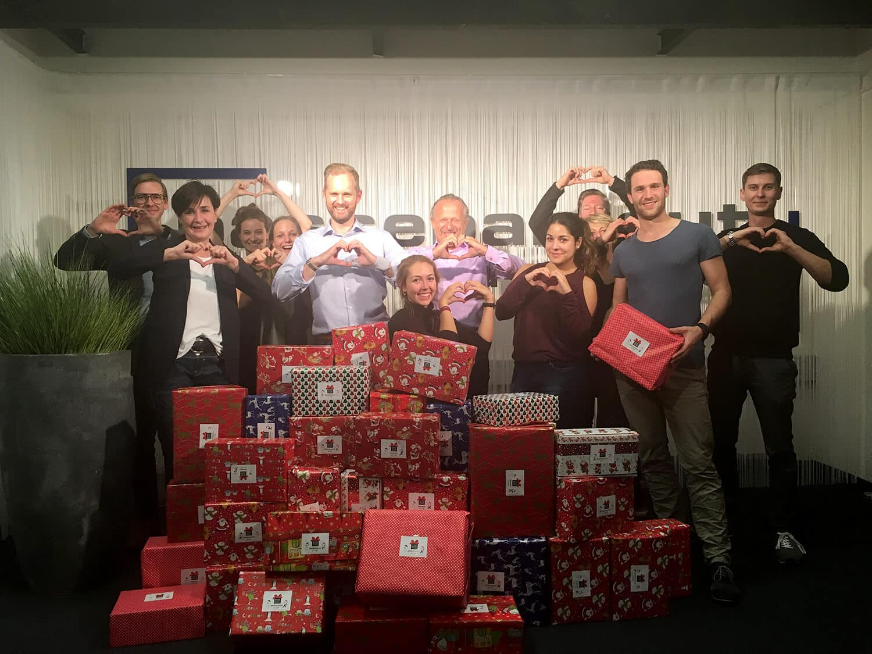 Agentur Passepartout – Teamaktion Weihnachtswichteln